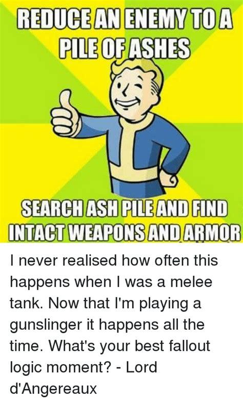 25 Best Fallout Logic Memes Fallouts Memes Minute Memes