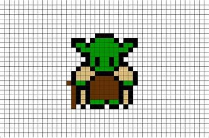 Pixel Yoda Wars Dessin Facile Modele Maitre