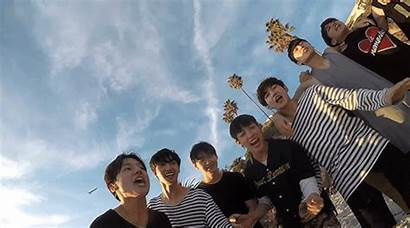 Kpop Groups Boy Ateez Junyoung Yunho Smiling