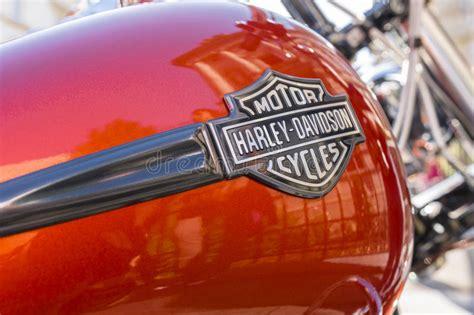 Harley Davidson Logo Editorial Stock Photo