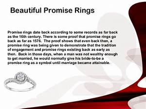 promise rings With promise ring letter for her