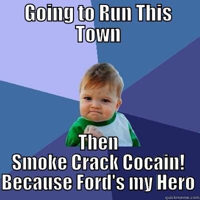 Smoking Crack Meme - rob ford quickmeme