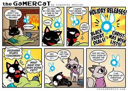 Gamercat Comics Sunday Comic Samantha Unkillable Wizards
