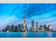 Shanghai, China City Of Lights
