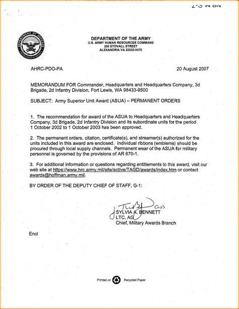 memorandum  record army card authorization