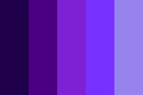 indigo color palette