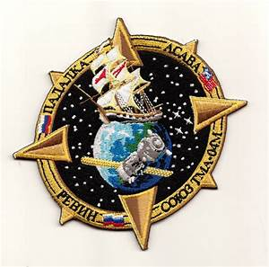 Soyuz TMA-04M Embroidered Mission Patch