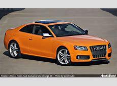 Reader's Rides Nick's 2011 Audi Exclusive Glut Orange S5