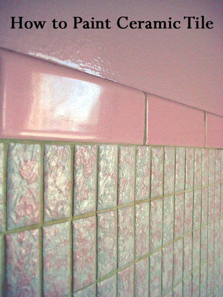 Alte Fliesen Bemalen by How To Paint Ceramic Tile Paint Tiles Kitchens And