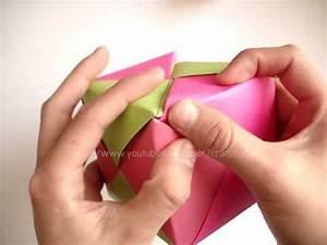 Carta cubo con chocolates // regalo de mes YouTube