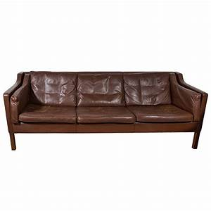 Sofa Vintage Leder : mogensen dark chocolate vintage leather sofa ~ Indierocktalk.com Haus und Dekorationen