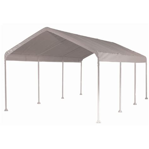 white shelter logic canopy replacement cover