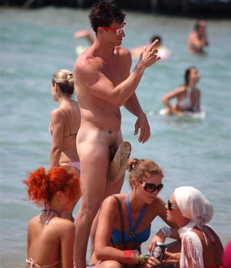 Guys Boner On Nude Beach Porno Photo