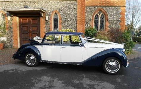 1950s Style Wedding Car In