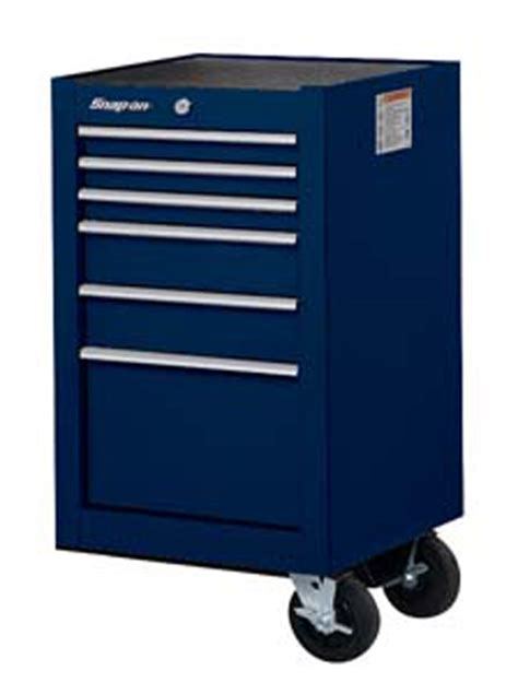 tool box end cabinet end cab 6 drawers classic midnight blue
