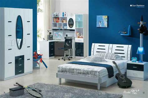chambre a coucher pour garcon couleur bleue pour des meubles de chambre à coucher de