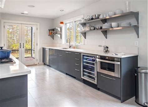 metal kitchen racks metal kitchen how to mix and match stainless steel kitchen shelves with