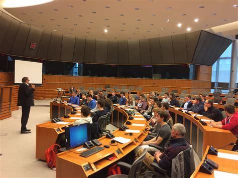 le bureau europeen le collège notre dame de basse wavre au parlement européen