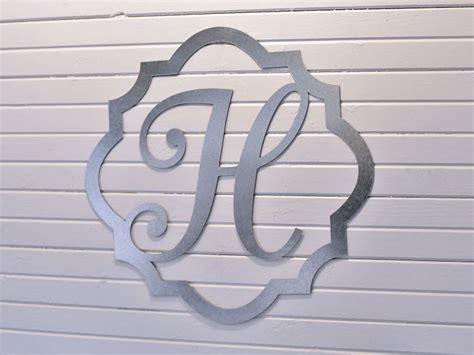 metal framed monogram letter craftcutscom