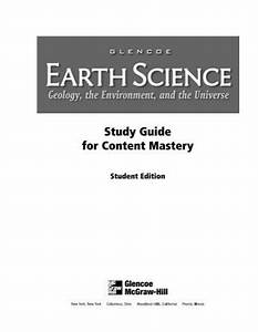 Earth Science  Geology  T