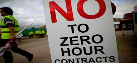 contracts zero hour end near hr