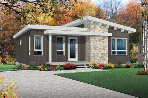 bedrm  sq ft contemporary house plan