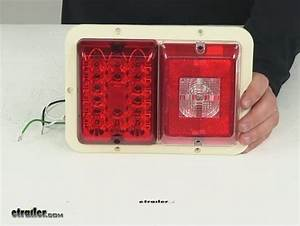 Led Double Trailer Tail Light - 4 Function