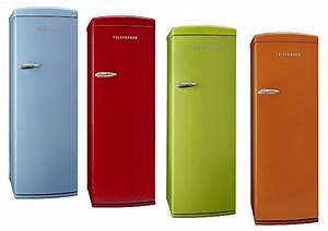 Amerikanischer Kühlschrank Mit Eiswürfelbereiter : telefunken tfk043f k hl gefrier kombination retro ~ Michelbontemps.com Haus und Dekorationen