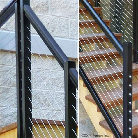 Cable Banister Kit by Feeney 174 Designrail 174 6 Aluminum Rail Kit For Stair