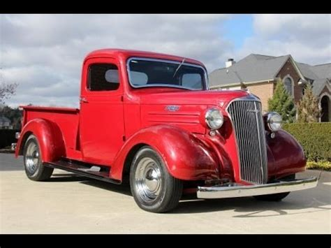 1937 chevrolet pickup truck test classic muscle car for sale in mi vanguard motor sales