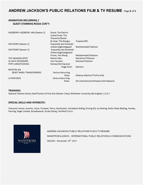 Relations Resume Template by 7 Best Relations Pr Resume Templates Sles