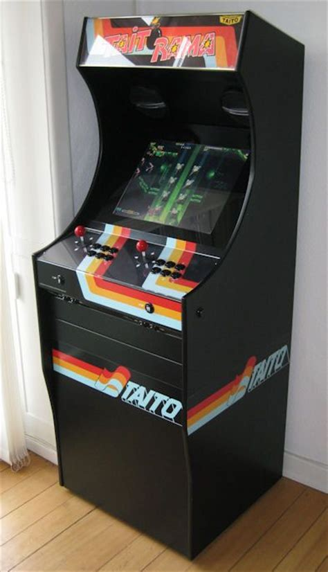build mame cabinet project mame build your own mame cabinet taitorama