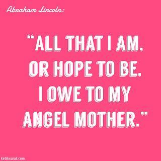 quotes bahasa inggris  mother  artinya ketik