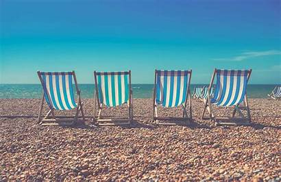 Deck Seaside Chair Wall Mural Beach Murals