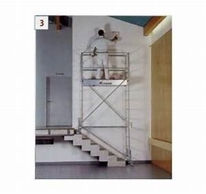 Kit Escalier pour Echafaudage Roulant Boutique Locashop