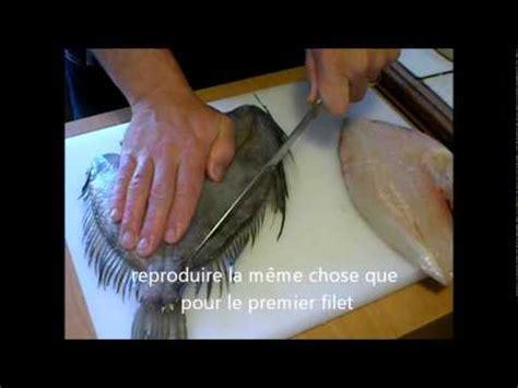 comment cuisiner la raie habiller préparer lever des filets de poisson et sole doovi
