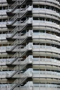 External Staircase Stock Image  Image Of Office  Facade