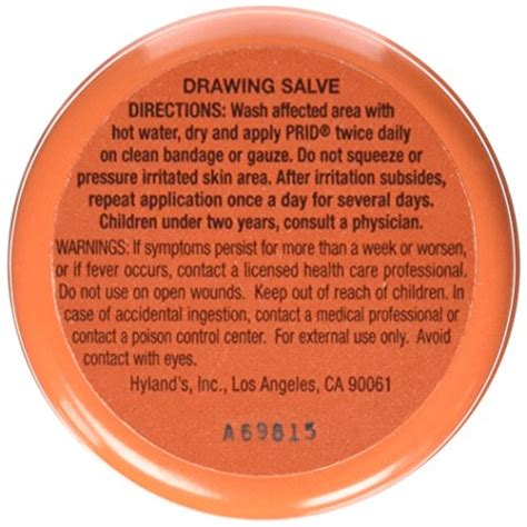 smiles prid drawing salve natural homeopathic topical