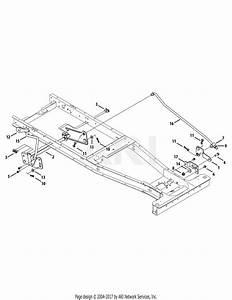 Mtd 13b326jc758  2014  Parts Diagram For Deck Lift