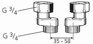 S Anschluss Armatur : ventilblock s anschluss 3 4 achsabstand 35mm bis 65mm ~ Watch28wear.com Haus und Dekorationen