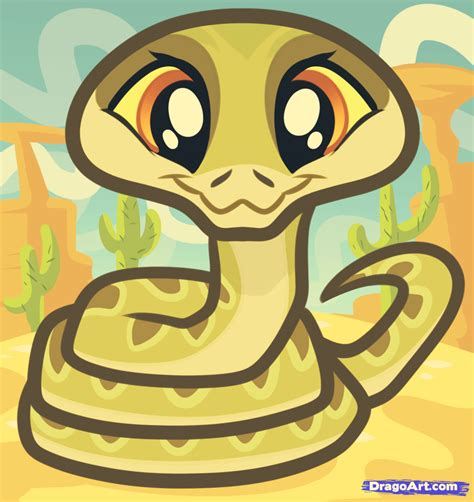 Drawing A Baby Snake Added By Dawn August 6 2019 256