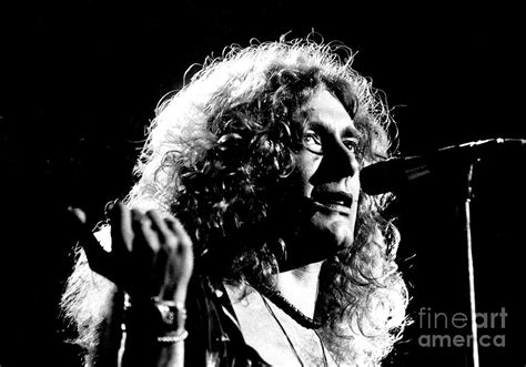 Robert Plant 1975 By Chris Walter
