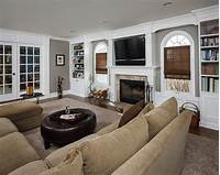 family room design Awesome, Comfy Family Room! | The Home Touches