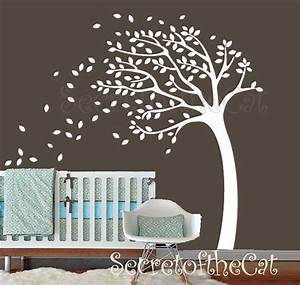 tree wall decal wall decals nursery tree decal baby tree With tree wall decal for nursery