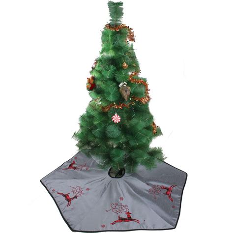 free shipping extra large 50 quot christmas tree skirt linen