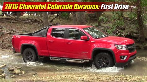 Colorado With A Duramax by Drive 2016 Chevrolet Colorado Duramax Testdriven Tv