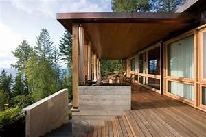 Une Maison Contemporaine Et  U0026quot Naturelle U0026quot