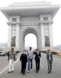 Dennis Rodman Visits North Korea