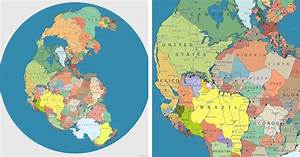 Modern Pangea Map Showing Today U0026 39 S Countries On The Supercontinent