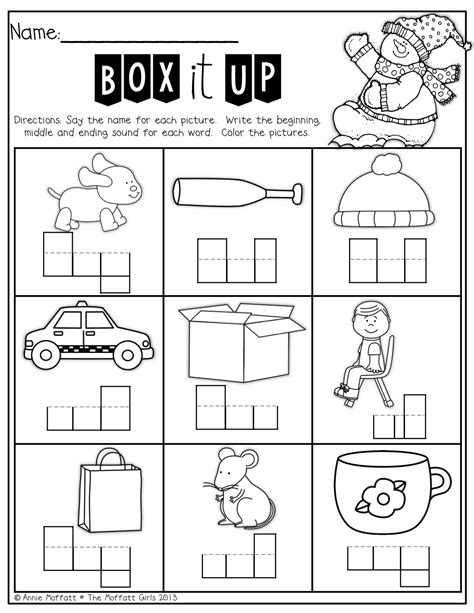 winter math  literacy packet kindergarten word
